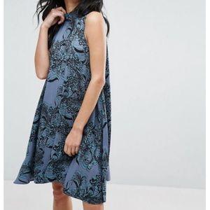 NEW paisley swing dress